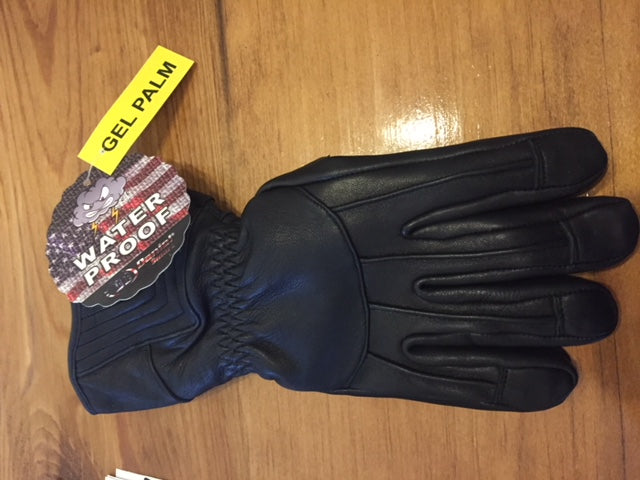 Men's Insulated Gauntlet Motorcycle Gloves