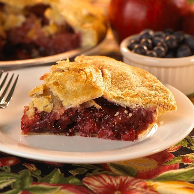 Apple Boysenberry Flakey - Whole Pie