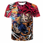 Custom Dragonball Graphics Tees