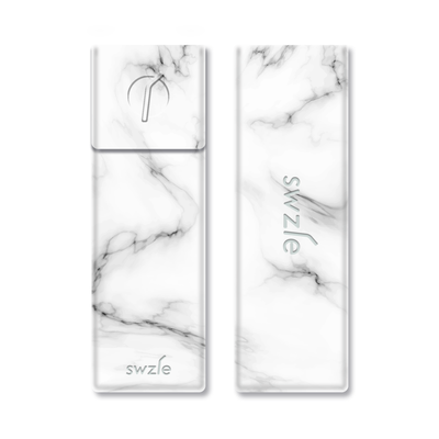 SWZLE Drinking Straw Carrying Case - Marble
