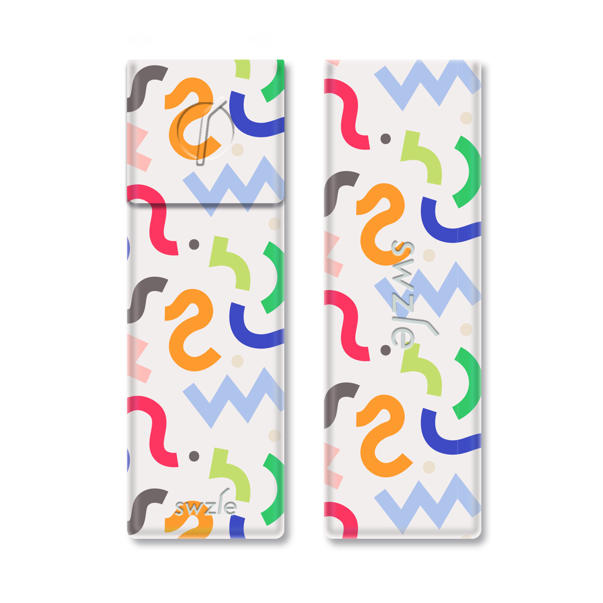 SWZLE Drinking Straw Carrying Case - Squiggle