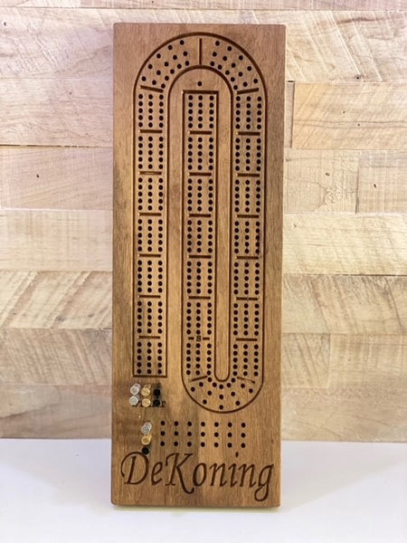 Personalized Cribbage Board- Engraving Included!