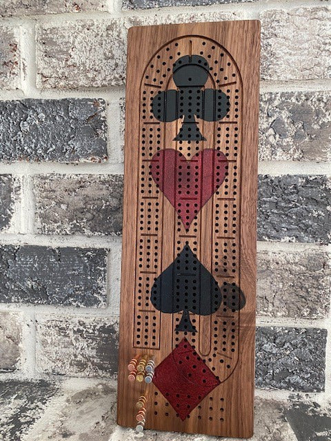 Cribbage Board- All Dressed Up!