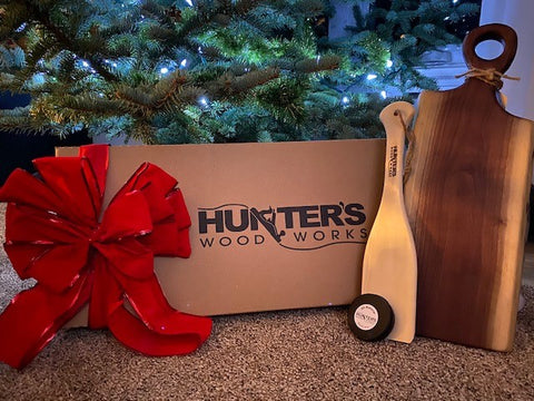 Hunters Wood Works Official Charcuterie Gift Set