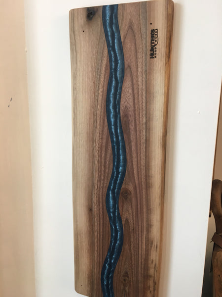 Blue Epoxy River Board