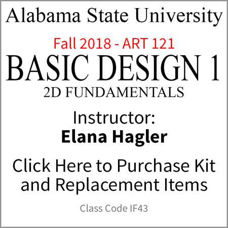 ASU Basic Design 1 Fall 2018 Hagler