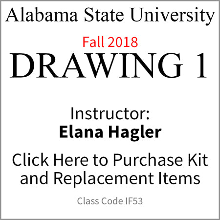 ASU Drawing 1 Fall 2018 Hagler