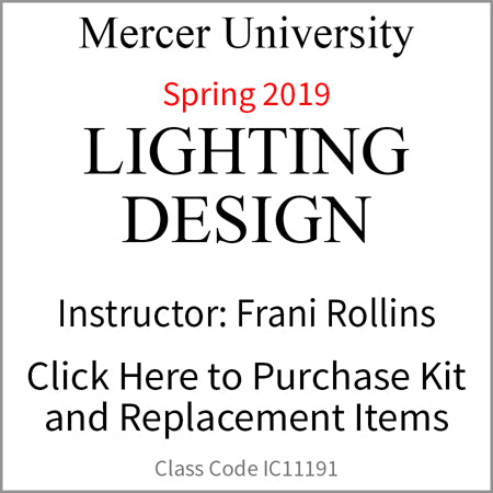 Mercer Lighting Design Spring 2019/Rollins