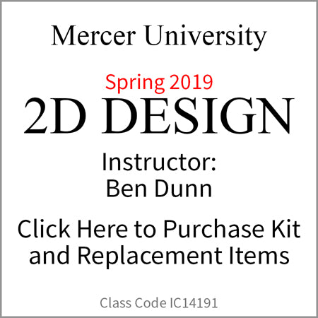 Mercer University 2D Design Spring 2019 Dunn