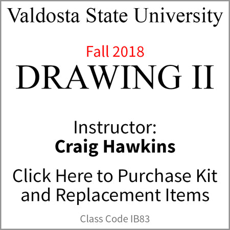 Valdosta Drawing II Fall 2018 Hawkins