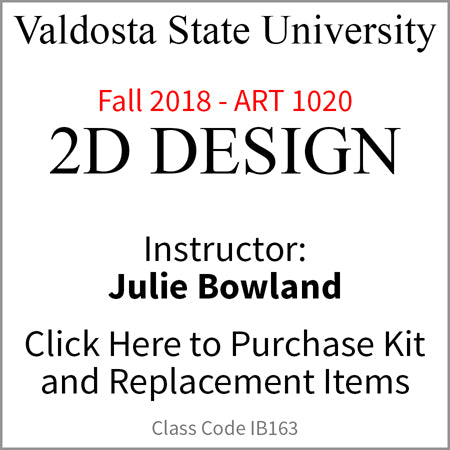 Valdosta 2D Design Fall 2018 Bowland