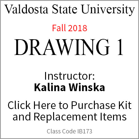 Valdosta Drawing 1 Fall 2018 Winska