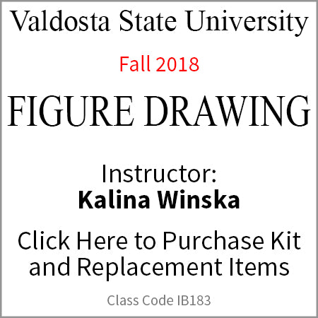 Valdosta Figure Drawing Fall 2018 Winska