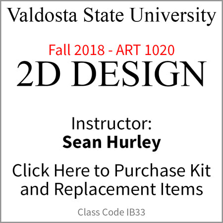 Valdosta 2D Design Fall 2018 Hurley