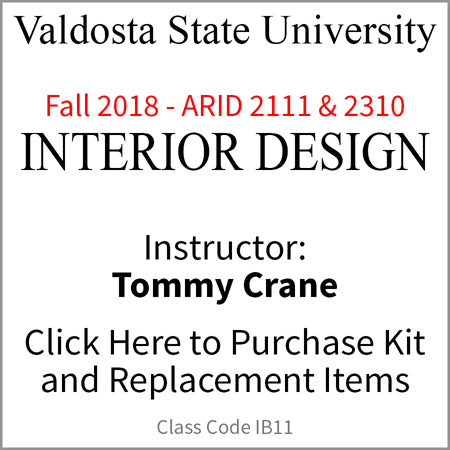 Valdosta Interior Design Fall 2018 Crane