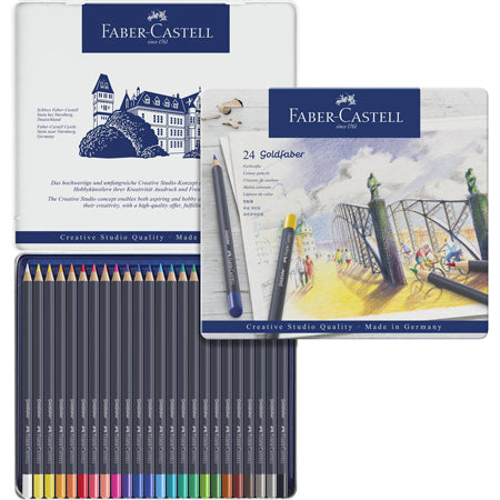 Faber Castell Goldfaber 24 Colored Pencil Set