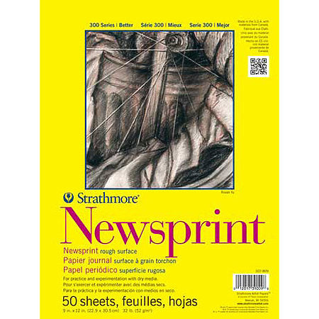 Strathmore 300 Series Newsprint Pad