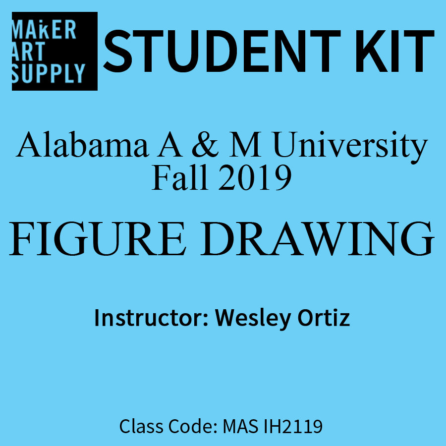 Student Kit: Alabama A & M Figure Drawing -  Fall 2019/Ortiz