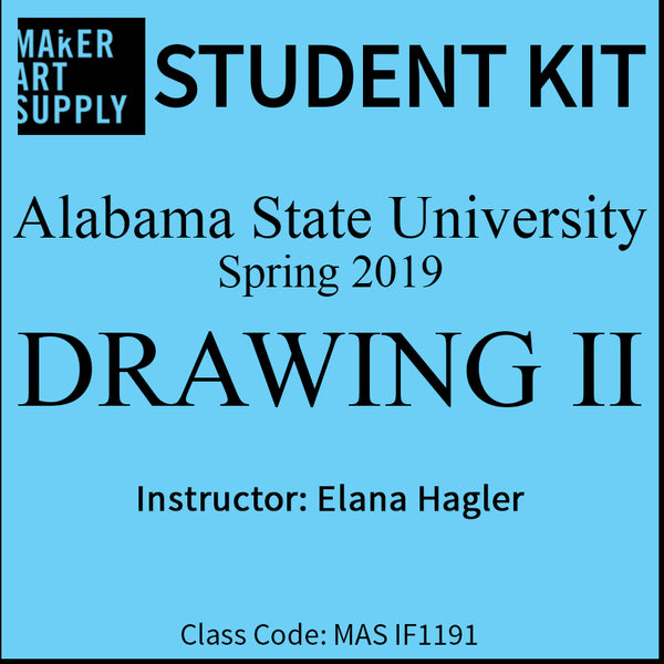 Student Kit: ASU Drawing II - Spring 2019/Hagler