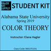 Student Kit: ASU Color Theory - Spring 2019/Hagler
