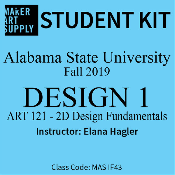 Student Kit: ASU Design 2D - Fall 2019/Hagler