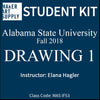 Student Kit: ASU Drawing 1 - Fall 2018/Hagler