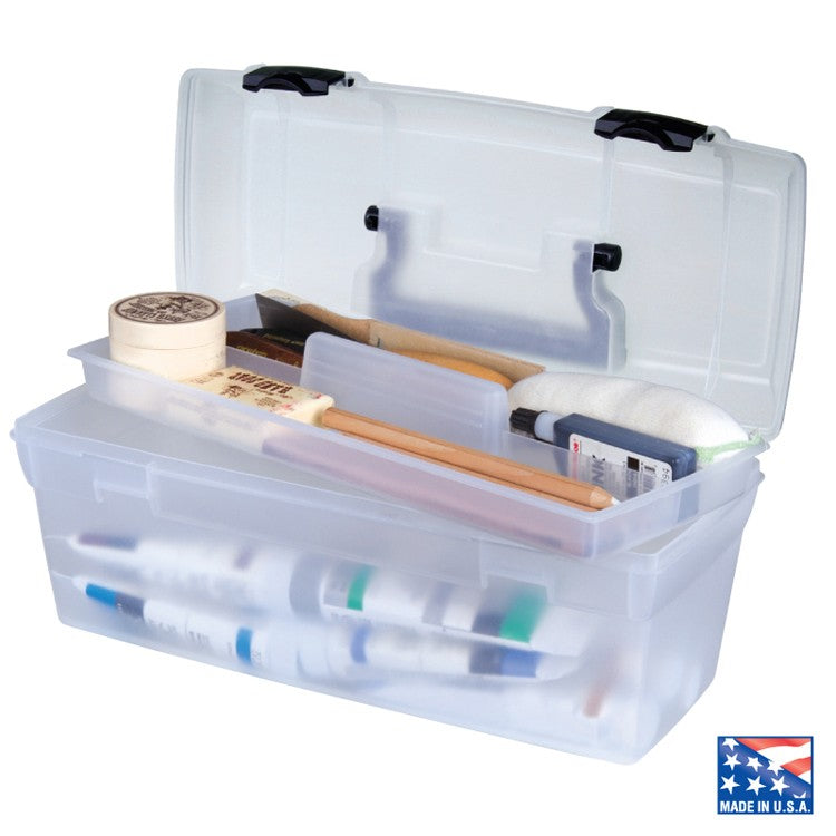"ArtBin 13"" Essentials Storage Box with Lift-Out Tray"