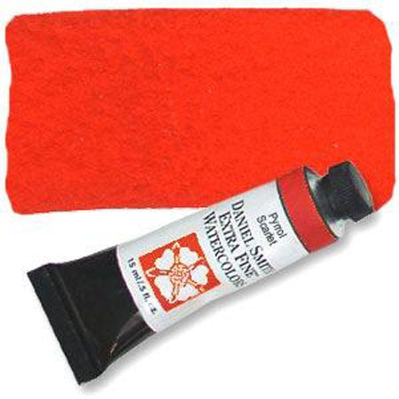 Daniel Smith Watercolor Tube, Pyrrol Red, 15ml