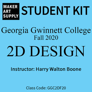 Student Kit: GGC 2D Design - Fall 2020/Boone