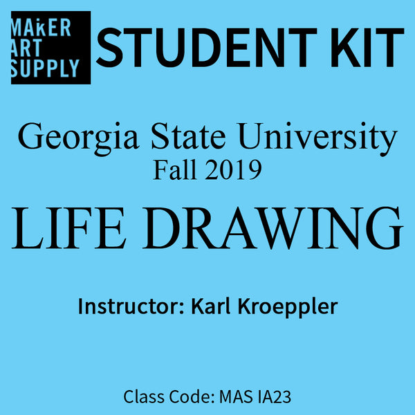 Student Kit: GSU Life Drawing - Fall 2019/Kroeppler