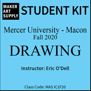 Student Kit: Mercer University Drawing - Fall 2020/O'Dell