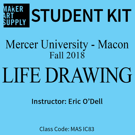 Student Kit: Mercer University Life Drawing - Fall 2018/O'Dell