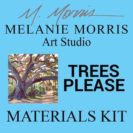 Materials Kit: Melanie Morris Art Studio - Trees Please