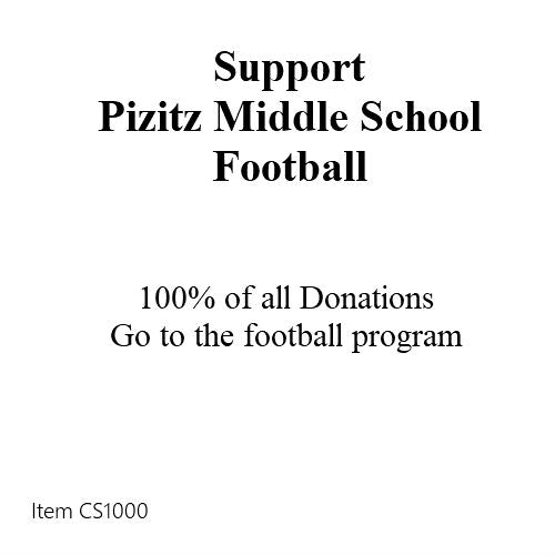 Charity: Pizitz Middle School Football