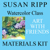 Materials Kit: Art with Friends - Watercolor with Susan Ripp