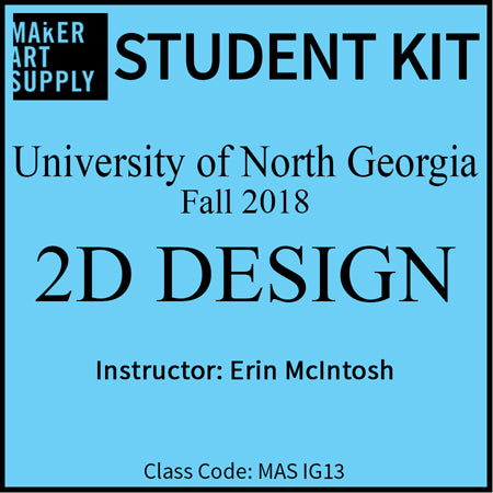 Student Kit: UNG 2D Design - Fall 2018/McIntosh