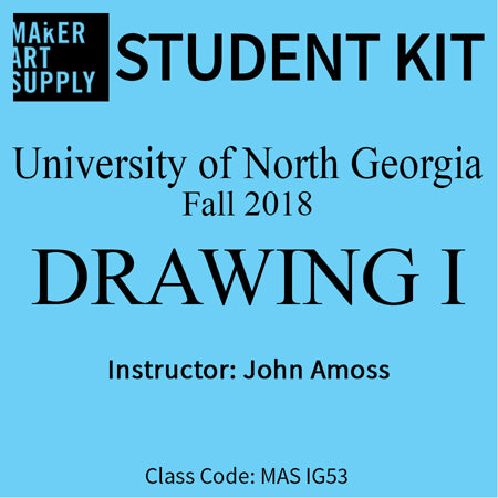 Student Kit: UNG Drawing I - Fall 2018/Amoss