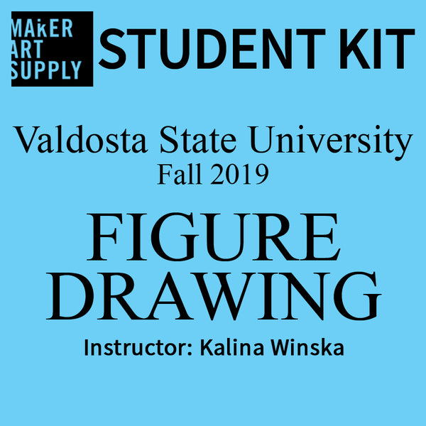 Student Kit: VSU Figure Drawing -  Fall 2019/Winska