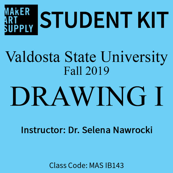 Student Kit: VSU Drawing 1 - Fall 2019/Nawrocki