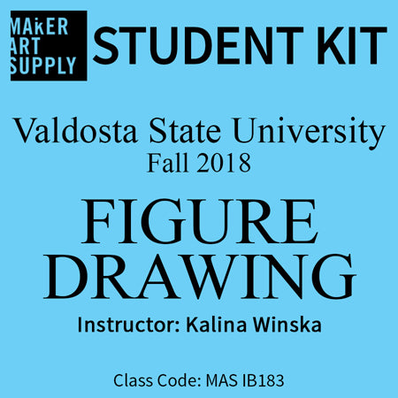 Student Kit: VSU Figure Drawing -  Fall 2018/Winska