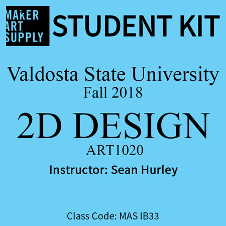 Student Kit: VSU 2D Design - Fall 2018/Hurley