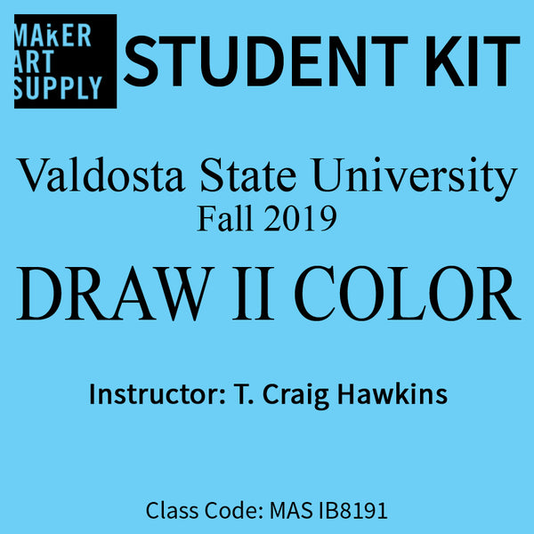 Student Kit: VSU Draw II Color - Fall 2019/Hawkins
