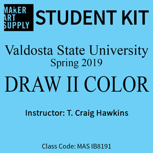 Student Kit: VSU Draw II Color - Spring 2019/Hawkins