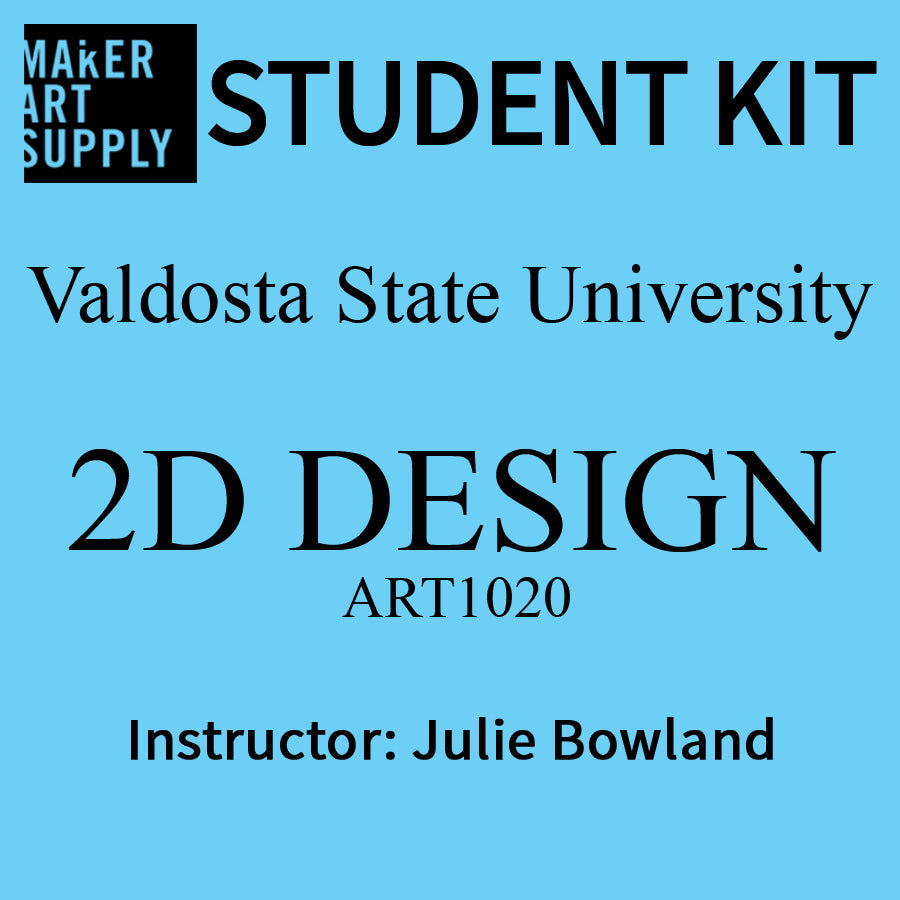 Student Kit: VSU 2D Design - Julie Bowland