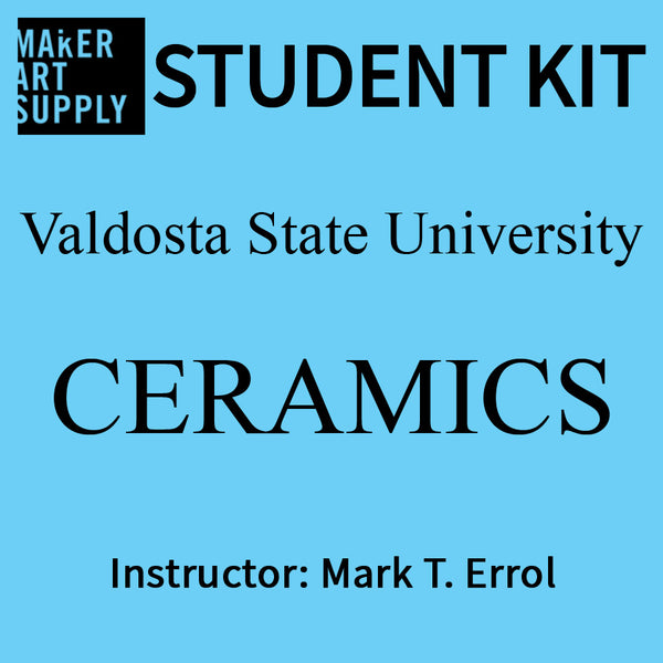 Student Kit: VSU Ceramics - Mark T. Errol