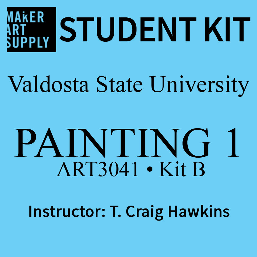 Student Kit: VSU ART3041 Painting I - KIT B - Craig Hawkins