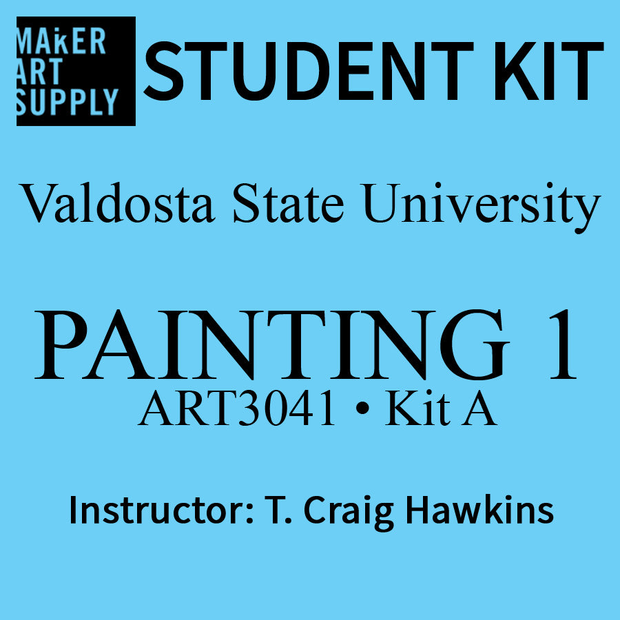 Student Kit: VSU ART3041 Painting I - KIT A - Craig Hawkins
