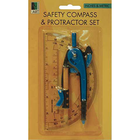 Art Alternative Compass/Protractor Set