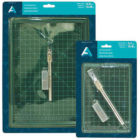 "Self Healing Cutting Mat with Blades, 9""x12"""