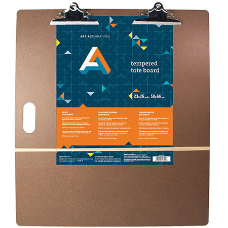 Art Alternative Tempered Drawing Board with Clips